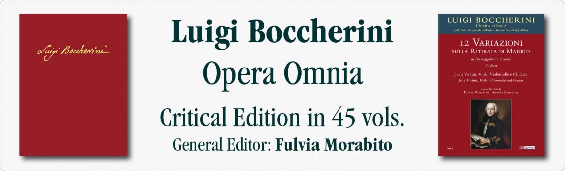 Luigi Boccherini Opera Omnia