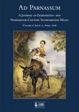 Ad Parnassum. A Journal on Eighteenth- and Nineteenth-Century Instrumental Music - Vol. 6 - No. 11 - April 2008