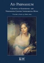 Ad Parnassum. A Journal on Eighteenth- and Nineteenth-Century Instrumental Music - Vol. 7 - No. 13 - April 2009