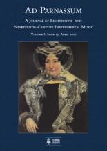 Ad Parnassum. A Journal on Eighteenth- and Nineteenth-Century Instrumental Music - Vol. 8 - No. 15 - April 2010