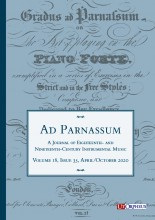 Ad Parnassum. A Journal on Eighteenth- and Nineteenth-Century Instrumental Music - Subscription 2021 (2 Issues)