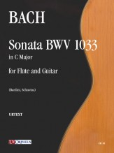 Bach, Johann Sebastian : Sonata BWV 1033 for Flute and Guitar