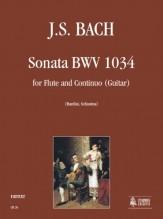 Bach, Johann Sebastian : Sonata BWV 1034 for Flute and Guitar