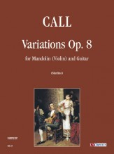 Call, Leonhard von : Variations Op. 8 for Mandolin (Violin) and Guitar