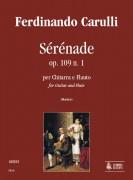 Carulli, Ferdinando : Sérénade Op. 109 No. 1 for Guitar and Flute
