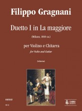 Gragnani, Filippo : Duet No. 1 in A Major for Violin and Guitar