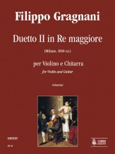 Gragnani, Filippo : Duet No. 2 in D Major for Violin and Guitar