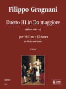 Gragnani, Filippo : Duet No. 3 in C Major for Violin and Guitar