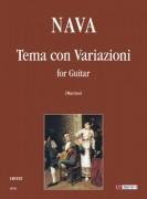 Nava, Antonio : Tema con Variazioni for Guitar