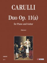 Carulli, Ferdinando : Duo Op. 11(a) for Piano and Guitar
