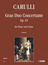 Carulli, Ferdinando : Gran Duo Concertante Op. 65 for Piano and Guitar