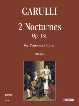 Carulli, Ferdinando : 2 Nocturnes Op. 131 for Piano and Guitar
