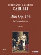 Carulli, Ferdinando - Carulli, Gustavo : Duo Op. 134 for Piano and Guitar