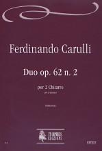 Carulli, Ferdinando : Duo Op. 62 No. 2 for 2 Guitars