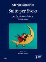 Signorile, Giorgio : Suite per Sveva for Guitar Quintet