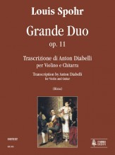 Spohr, Louis : Grande Duo Op. 11 for Violin and Guitar