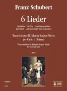 Schubert, Franz : 6 Lieder for Voice and Guitar