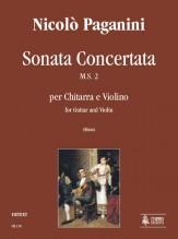 Paganini, Niccolò : Sonata Concertata M.S. 2 for Guitar and Violin