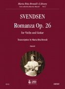 Svendsen, Johan : Romanza Op. 26 for Violin and Guitar