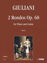 Giuliani, Mauro : 2 Rondos Op. 68 for Piano and Guitar