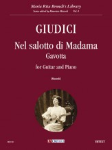 Giudici, Eugenio : Nel salotto di Madama. Gavotta for Guitar and Piano