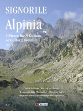 Signorile, Giorgio : Alpinia. 3 Pieces for 5 Guitars or Guitar Ensemble (2011)