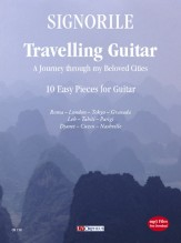 Signorile, Giorgio : Travelling Guitar. A Journey through my Beloved Cities. 10 Easy Pieces for Guitar (+mp3 files)