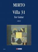 Mirto, Giorgio : Villa 31 for Guitar (2012)