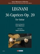 Legnani, Luigi : 36 Caprices Op. 20 for Guitar
