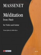 Massenet, Jules : Méditation from 'Thaïs' for Violin and Guitar