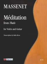 Massenet, Jules : Méditation from 'Thaïs' for Violin and Guitar