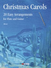 Christmas Carols. 20 Easy Arrangements for Flute and Guitar