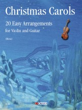 Christmas Carols. 20 Easy Arrangements for Violin and Guitar