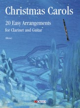 Christmas Carols. 20 Easy Arrangements for Clarinet and Guitar