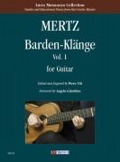 Mertz, Johann Kaspar : Barden-Klänge for Guitar - Vol. 1