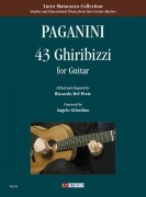 Paganini, Niccolò : 43 Ghiribizzi for Guitar