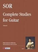 Sor, Fernando : Complete Studies for Guitar