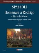 Spazzoli, Alessandro : Homenaje a Rodrigo. 4 Pieces for Guitar