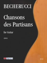 Becherucci, Eugenio : Chansons des Partisans for Guitar (2011)