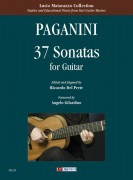 Paganini, Niccolò : 37 Sonatas for Guitar