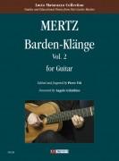 Mertz, Johann Kaspar : Barden-Klänge for Guitar - Vol. 2