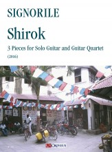 Signorile, Giorgio : Shirok. 3 Pieces for Solo Guitar and Guitar Quartet (2016)