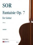 Sor, Fernando : Fantaisie Op. 7 for Guitar