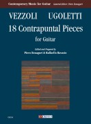 Vezzoli, Andrea - Ugoletti, Paolo : 18 Contrapuntal Pieces for Guitar