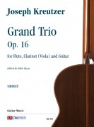Kreutzer, Joseph : Grand Trio Op. 16 for Flute, Clarinet (Viola) and Guitar
