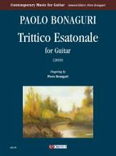 Bonaguri, Paolo : Trittico Esatonale for Guitar (2010)