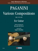 Paganini, Niccolò : Various Compositions (M.S. 85-105) for Guitar