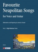 Favourite Neapolitan Songs for Voice and Guitar - Vol. 2: High/Medium Voice