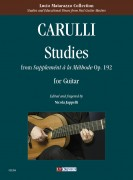 "Carulli, Ferdinando : Studies from ""Supplemént à la Méthode"" Op. 192 for Guitar"