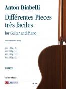 Diabelli, Anton : Différentes Pieces très faciles for Guitar and Piano - Vol. 4: Op. 45
